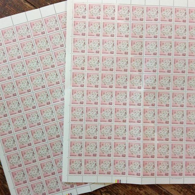 たかが10円、されど10円。#10円#塵も積もれば山#62円切手